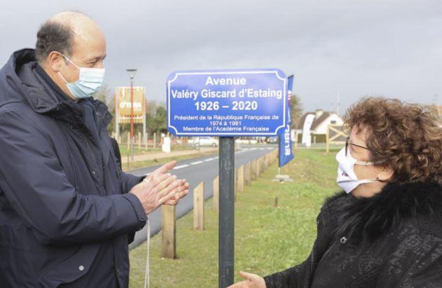 Amiens rend hommage à Valéry Giscard d'Estaing en baptisant une avenue à son nom....