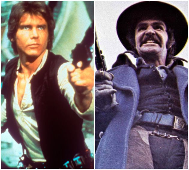 Harrison Ford and Burt