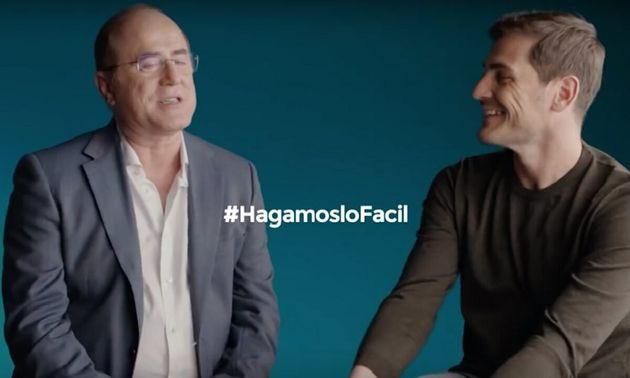 Un anuncio de Arriaga Asociados con Iker