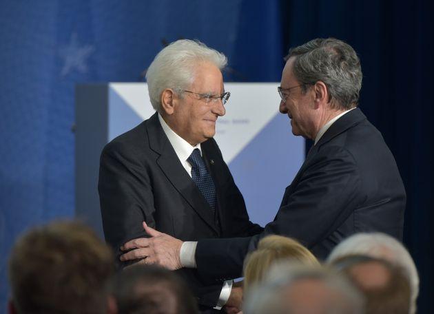 Mattarella y Draghi, juntos en