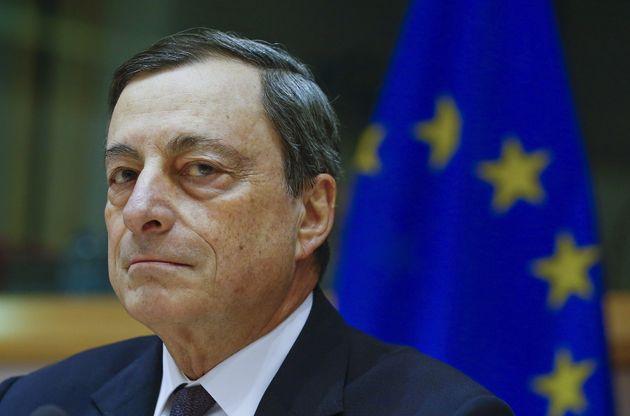 European Central Bank (ECB) President Mario Draghi testifies before the European Parliament's Economic...