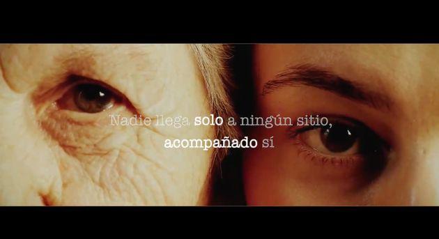 Captura del vídeo de Podemos sobre los