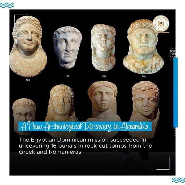 Μούμιες με χρυσές γλώσσες ανακαλύφθηκαν στην Αλεξάνδρεια - Σε τι πίστευαν πως