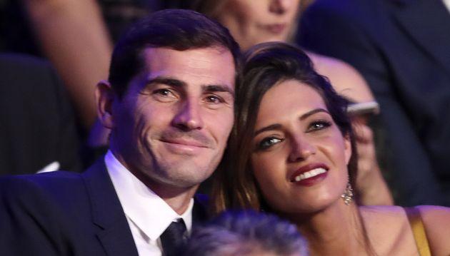Iker Casillas y Sara Carbonero en