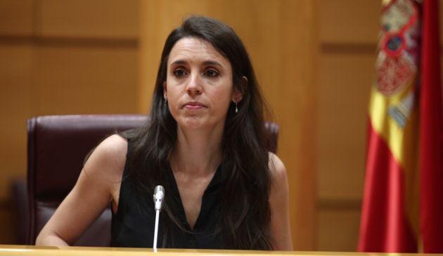 La ministra de Igualdad, Irene Montero (Eduardo Parra/Europa Press via Getty