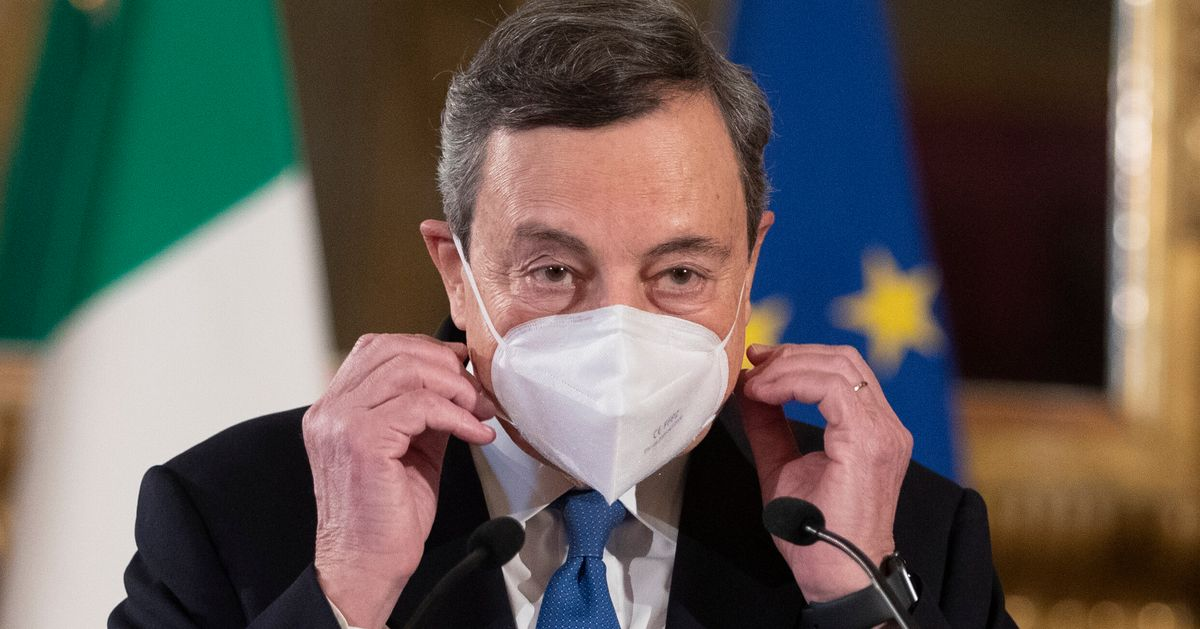 Governo Draghi - cover