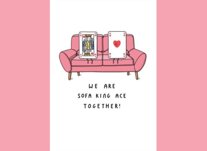 We are sofa king age together!