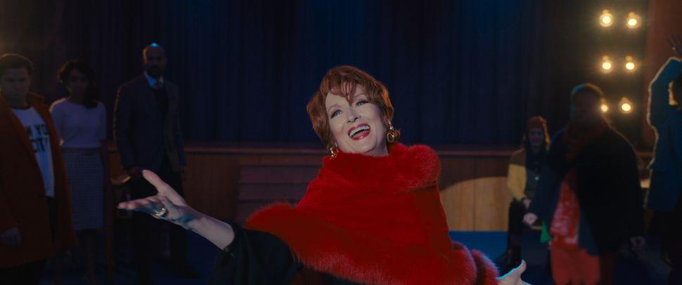 "Meryl Streep as Dee Dee Allen in ""The Prom."""