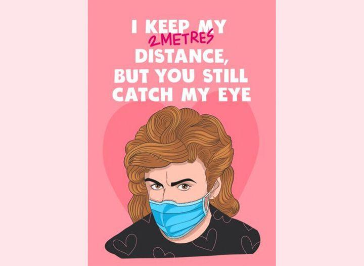 I keep my distance, but you still catch my eye