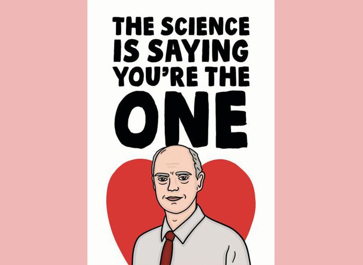 The science is saying you're the one