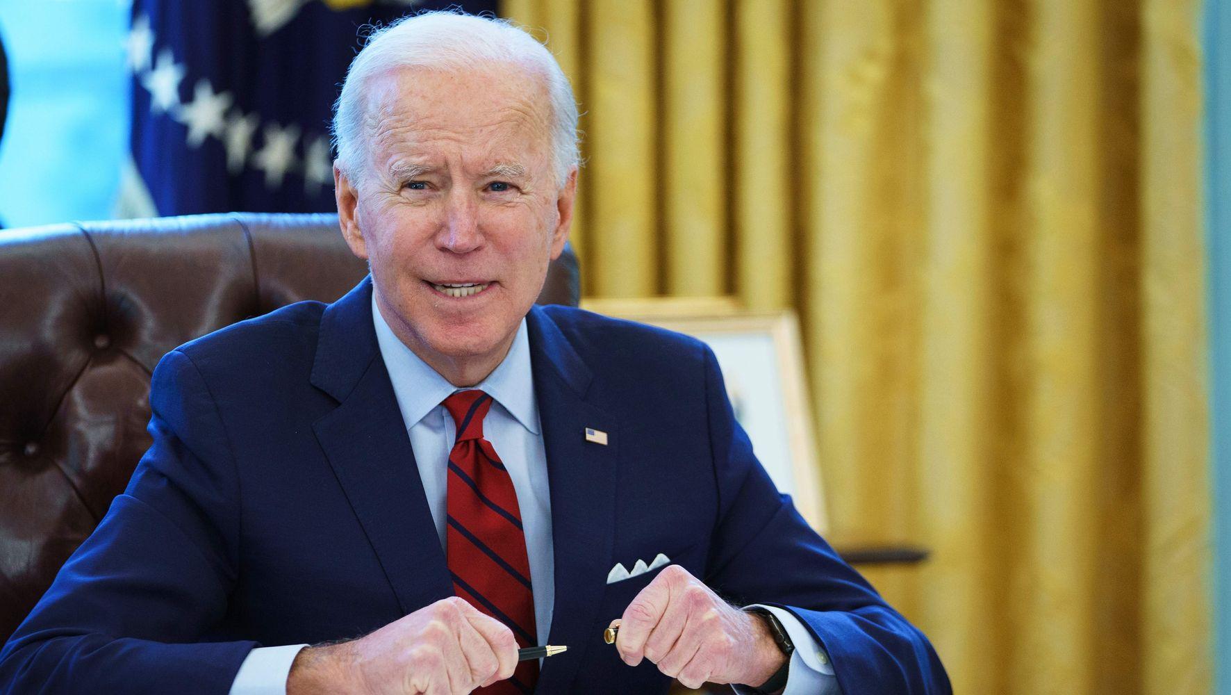 Biden Stays Clear Of Endorsing Union Effort At Alabama Amazon Warehouse