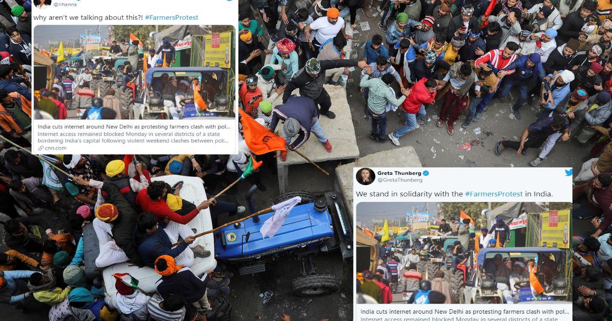 Pourquoi ces tweets de Rihanna et Greta Thunberg mettent l'Inde en colère