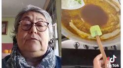 A esta señora le entran los 7 males al ver cómo preparan una paella: