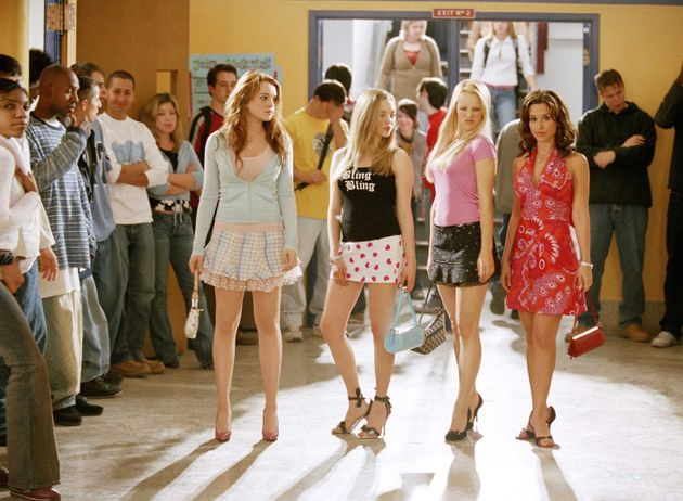 The Plastics roam the hall in Mean