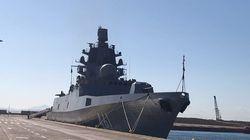Η ρωσική φρεγάτα «Ναύαρχος Κασατόνοβ» στο λιμάνι του