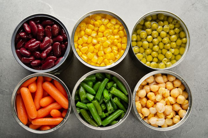 Nutritionists say eating canned fruits and vegetables is better than eating no produce at all.
