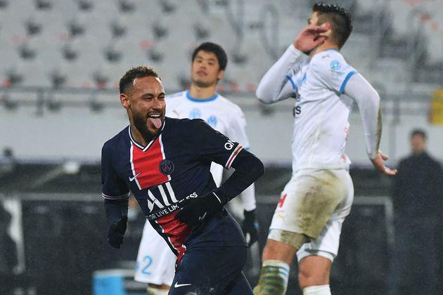 Neymar, ici lors du Trophée des Champions OM-PSG disputé à Lens,le 13 janvier