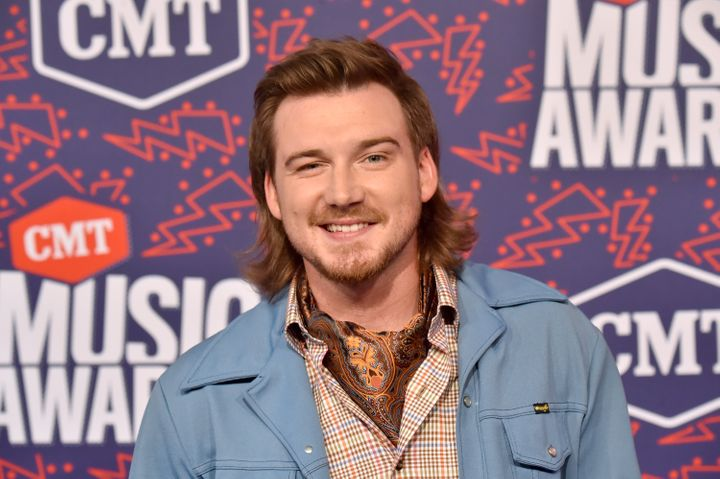 Morgan Wallen attends the 2019 CMT Music Awards in Nashville, Tennessee.