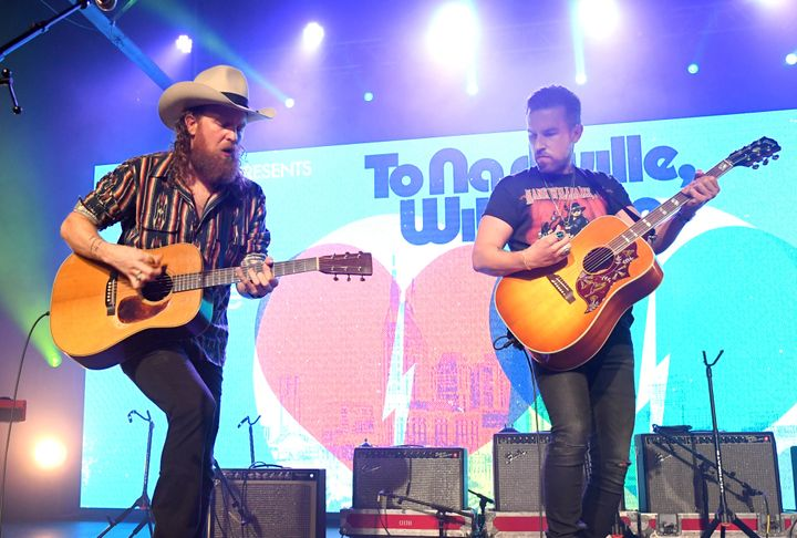 "John and T.J. Osborne of the Brothers Osborne released their most recent album, ""Skeletons,"" in October 2020."