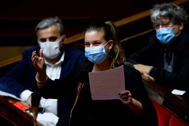 Mathilde Panot, ici à l'Assemblée nationale, le 8 décembre