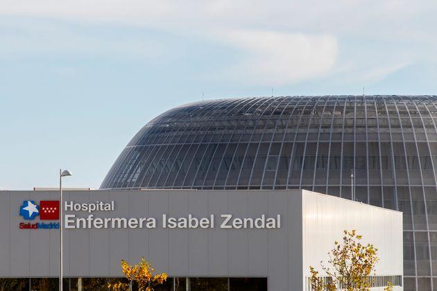 Fachada del Hospital Isabel Zendal, en Madrid (Marcos del Mazo/LightRocket via Getty