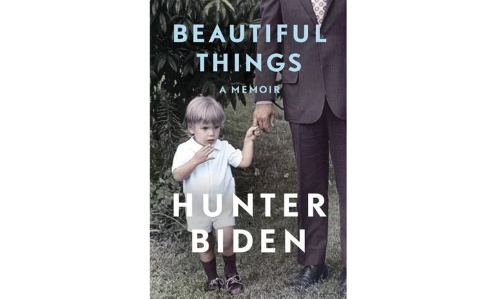 """This cover image released by Gallery Books shows """"Beautiful Things,"""" a memoir by Hunter Biden. The book will center on the yo"""