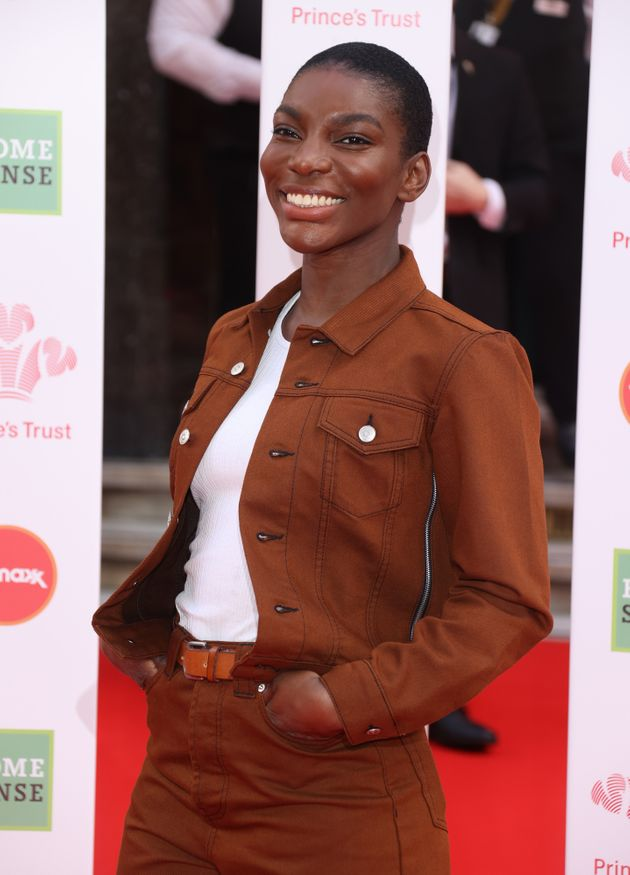 Michaela Coel at a Prince's Trust event in
