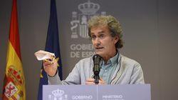 Fernando Simón pide a los periodistas que le ayuden a transmitir este mensaje a los