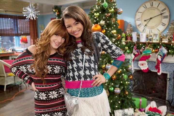 Zendaya, junto a Bella Thorne, en sus tiempos como chica Disney.
