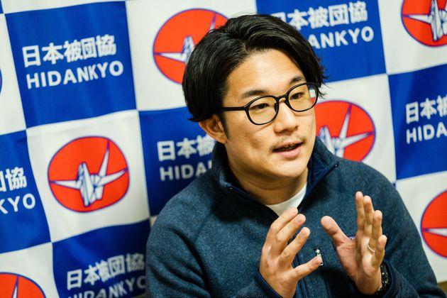 被爆者の証言や平和への活動を受け継ぐ林田光弘さん