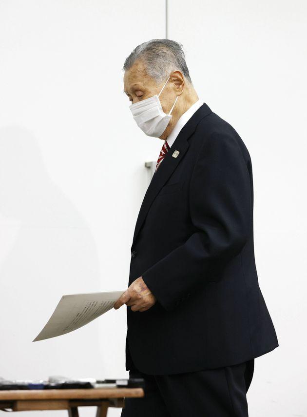会長 オリンピック 森