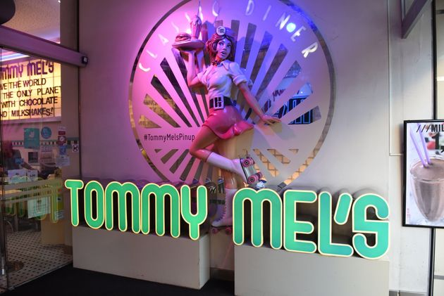 Un restaurante de Tommy Mel's en la Gran Vía de