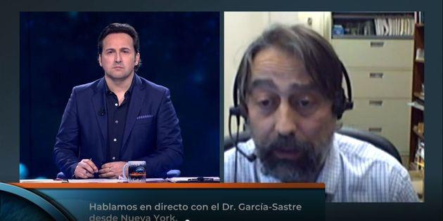 El virólogo Adolfo García