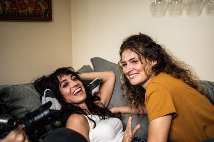 """""""Girl Night Stand: Chapter 2"""" was shotat Laurenzo's New Jersey apartment with a bare-bones crew and strict social dista"""