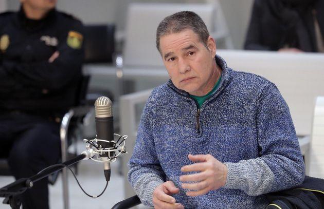 El etarra Troitiño cuando fue juzgado por la Audiencia Nacional en