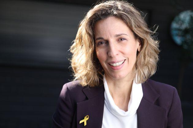 La candidata del PDeCAT en las elecciones catalanas del 14 de febrero, Àngels Barceló, en una imagen...