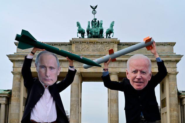 تظاهرات خلع سلاح هسته ای در برلین ، 29 ژانویه