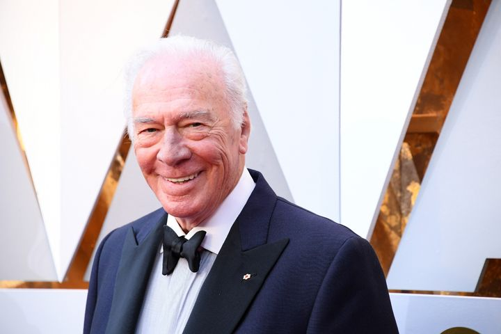 Christopher Plummer at the 2018 Academy Awards.