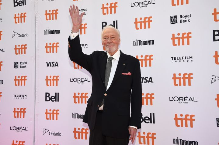 """Christopher Plummer attends the premiere for """"Knives Out"""" on day three of the Toronto International Film Festival at the Princess of Wales Theatre on Sept. 7, 2019."""