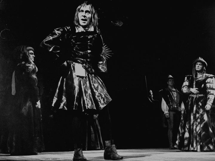 "Plummer in a production of Shakespeare's ""Richard III."""
