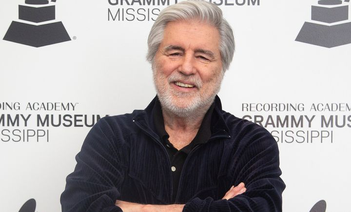 "Jim Weatherly posing for ""An Evening With Jim Weatherly at the Grammy Museum Mississippi"" on March 7, 2019, in Cleveland, Mis"