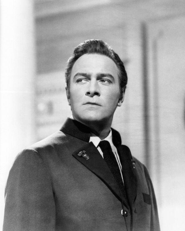Christopher Plummer as Captain Georg von Trapp in The Sound of