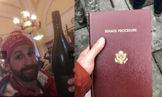 """Jason Riddle""""admitted that he walked into an office and found an open bottle of wine on or in a refrigerator and"""