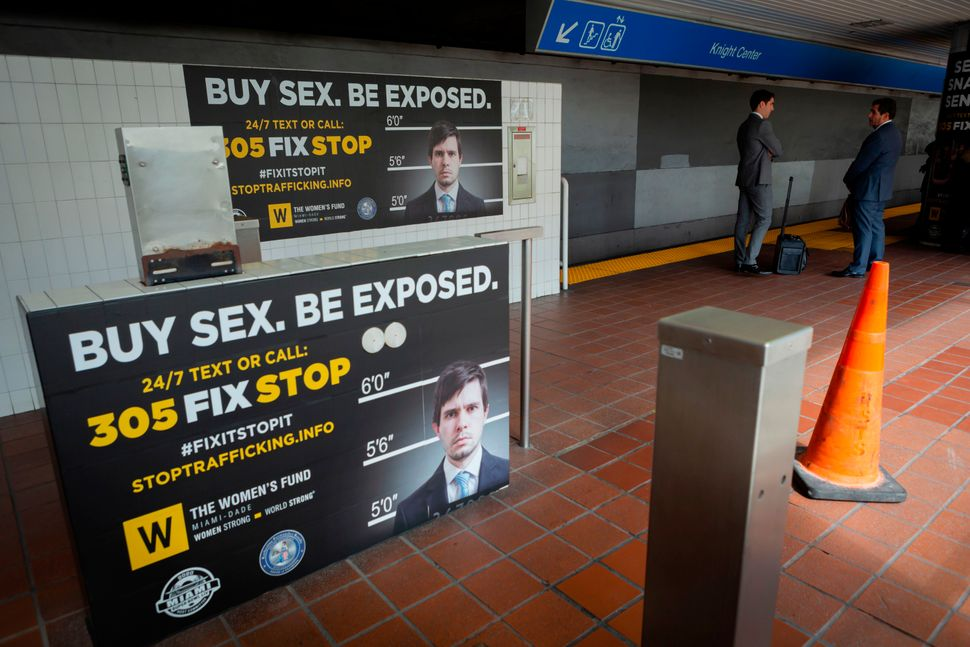 Anti-trafficking billboard campaigns have become a mainstay of Super Bowl preparations.
