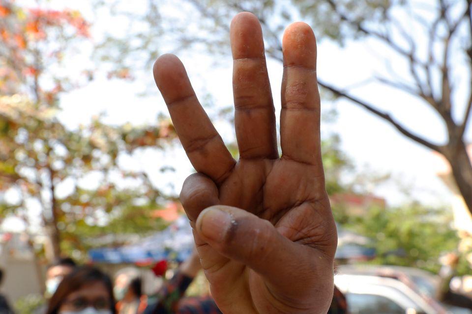 5일 미얀마 만달레이