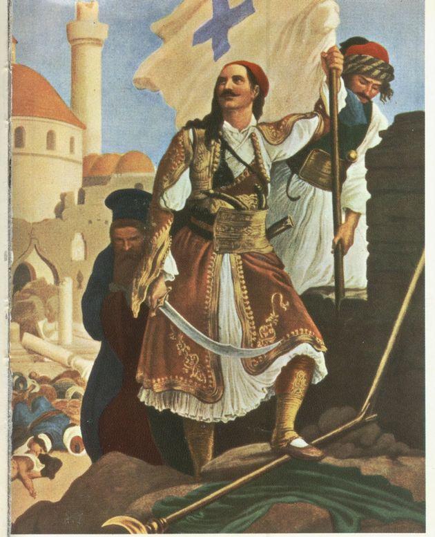 Ο οπλαρχηγός Παναγιώτης Κεφάλας. «Ο Κεφάλας σηκώνει τη σημαία της ελευθερίας στα τείχη της