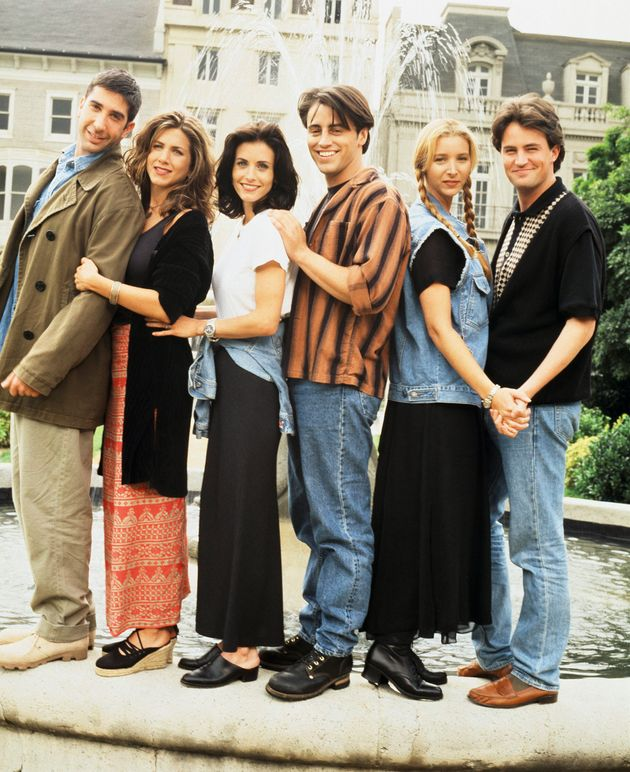The main cast of