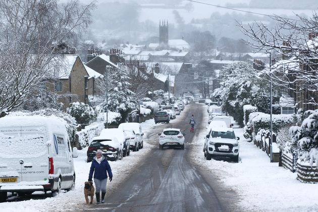 Some parts of the country could see up to 20cm of