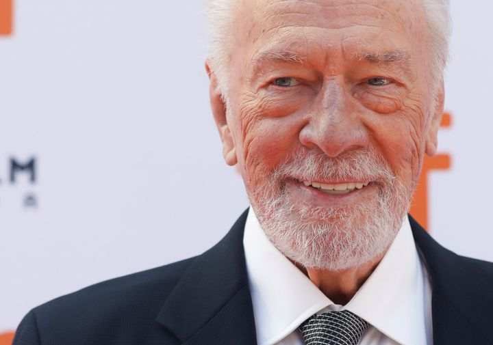 """Christopher Plummer at special presentation of """"Knives Out"""" at the Toronto International Film Festival (TIFF) in Toronto, September 7, 2019"""