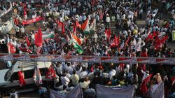 Thousands Of Farmers In India Blockade Highways Protesting New Farm